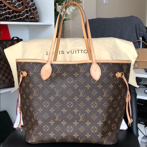 31f0114dc258 Louis Vuitton Bags | Authentic Neverfull Mm In Monogram | Poshmark